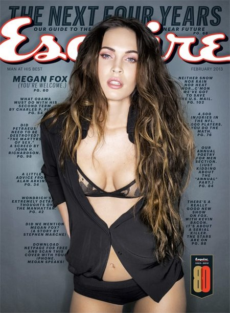 Megan Fox Esquire USA