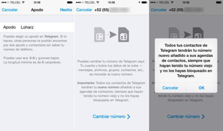 Telegram Ios Screen