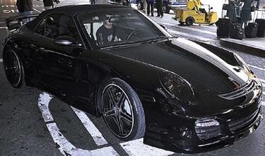 David Beckham le regala un Porsche a Victoria Beckham