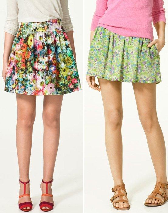 Zara faldas