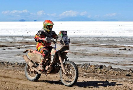 Chavo Salvatierra Bolivia Dakar2014