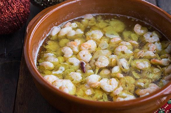 Gambas Al Ajillo Receta De Cocina Facil Sencilla Y Deliciosa