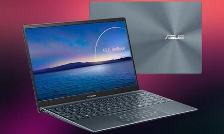 Ligero y delgado, el ultrabook ASUS ZenBook 14 UX425EA-HM038T ahora cuesta 200 euros menos en Amazon y MediaMarkt