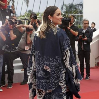 Y el premio al look más incomprensible (e inimaginable) del Festival de Cannes 2019 es para... Marion Cotillard