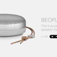 Bang & Olufsen quiere estar siempre a tu lado y lanza el BeoPlay A1 para llevar la música a todas partes
