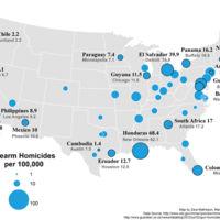 26 gráficos para entender la discusión sobre las armas en EEUU