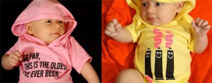 Nuevas sudaderas para bebés en Threadless
