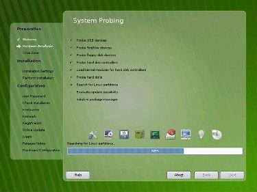 OpenSuse 11.0 Alpha 1: el instalador se renueva