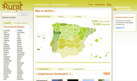Directorio rural para encontrar casas rurales de espa a - Casas rurales portugal ...