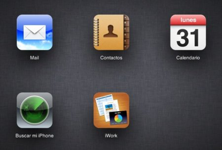 icloud apple nube web