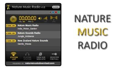Nature Music Radio, emisora de ambientes relajantes