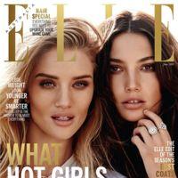 Elle Australia: Lily Aldrige y Rosie Huntington-Whiteley