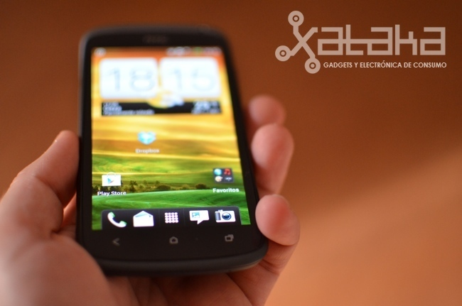 HTC One S análisis pantalla SuperAMOLED