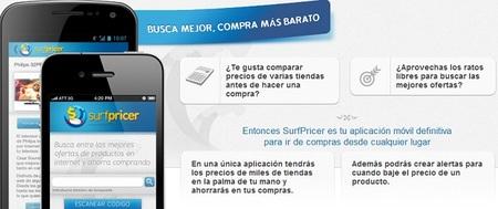 Surfpricer, nueva aplicación móvil que permite ahorrar hasta un 60% en las compras