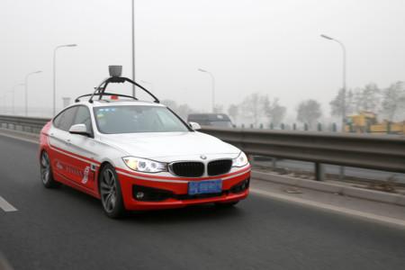 El coche autónomo de Baidu hace su primera ruta por Pekín