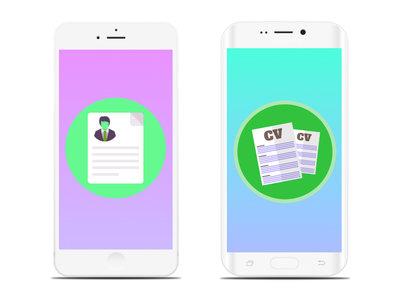 Cinco aplicaciones para crear currículums desde el móvil Android y iOS