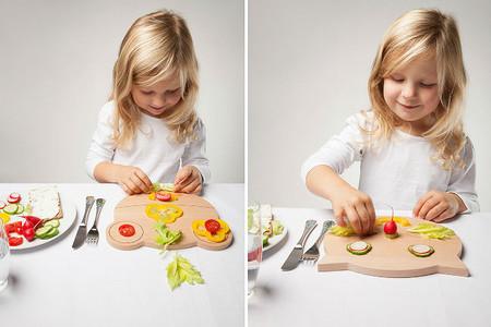 Simpáticas tablas de cocina con formas de animales