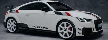 """Audi TT RS """"40 years of quattro"""", solo 40 unidades para celebrar el nacimiento de esta legendaria tecnología"""