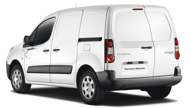 Peugeot Partner eléctrica - trasera