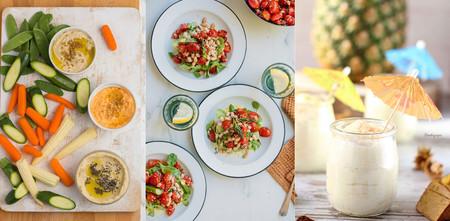 Recetas frescas y veraniegas para recibir el calor en el paseo por la gastronomía de la red