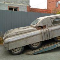 Alerta roja: indescriptible vehículo soviético de ocho ruedas encontrado en una ciudad rusa