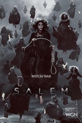 'Salem', tráiler y llamativos carteles de la guerra de las brujas de su segunda temporada