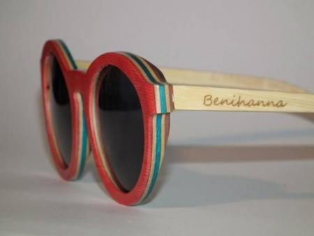 Gafas de sol de madera Benihanna