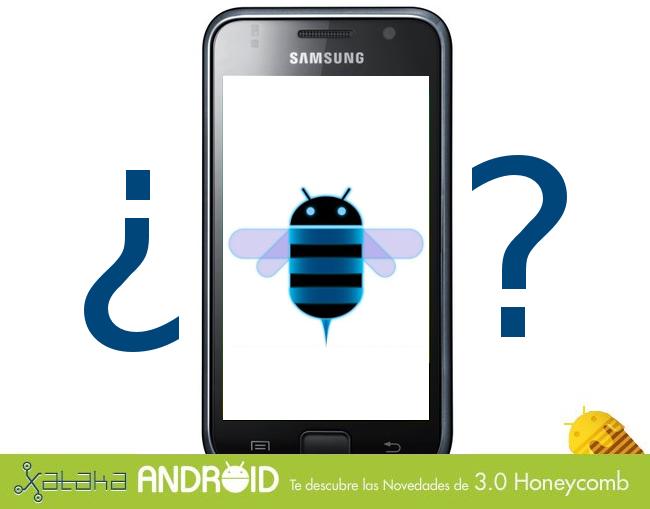 ¿Puedo actualizar a Android 3.0?