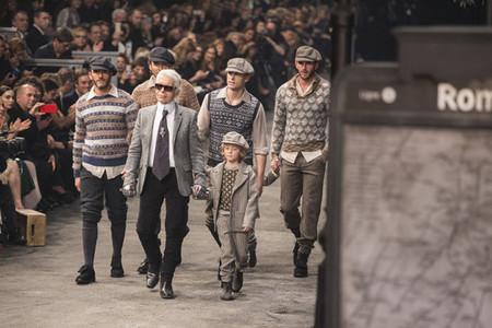 Sebastien Jondeau Karl Lagerfeld Roma Chanel