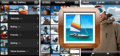 MobileMe Gallery, la nueva aplicación de Apple para el iPhone