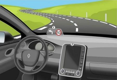 Panel de visualización de Renault