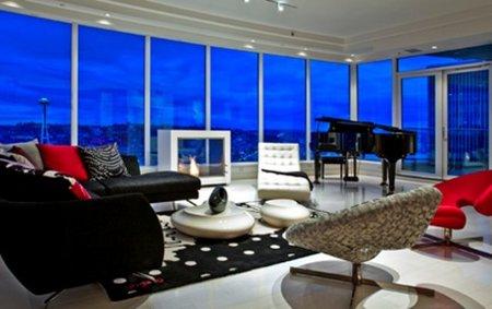 El apartamento real del protagonista de '50 sombras de Grey'