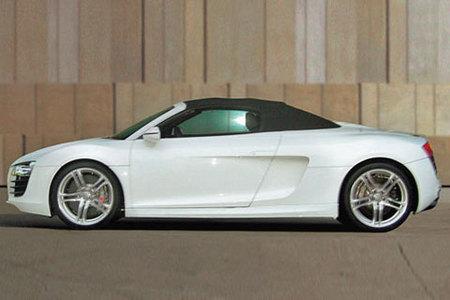 Recreraciones del Audi R8 Spider
