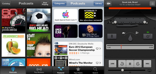 Podcasts en iOS