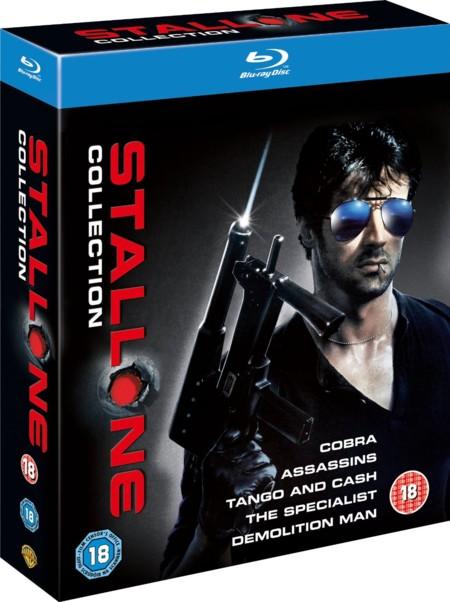 Colección Sylvester Stallone en Blu-ray por 15,49 euros