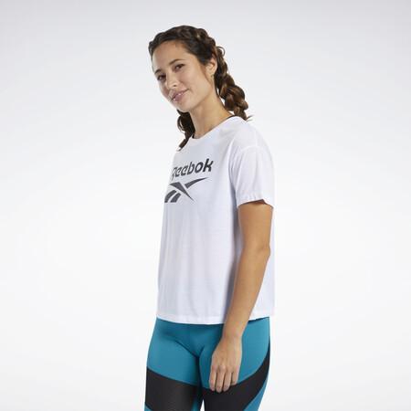 Camiseta Workout Ready Supremium Logo Blanco Fj2757 01 Standard