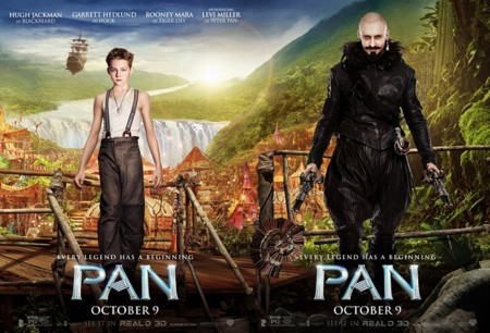 'Pan (Viaje a Nunca Jamás)', magia frenética y superficial