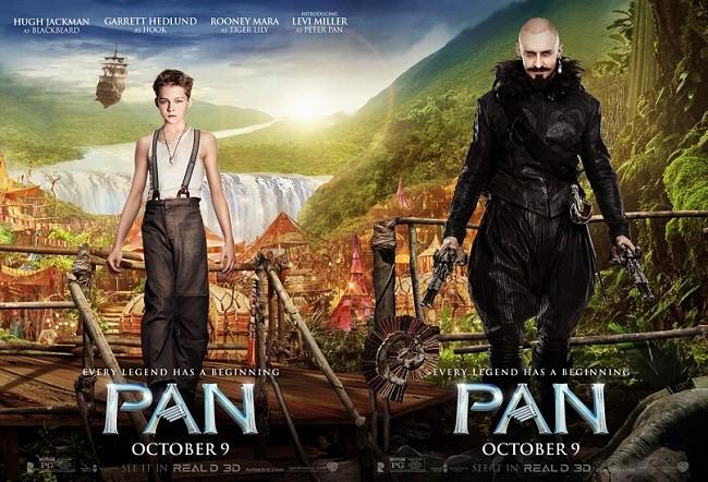 Cartel de 'Pan (Viaje A Nunca Jamás)'