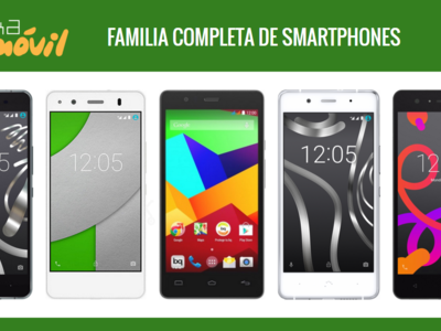 Así queda el catálogo de smartphones bq tras la llegada del nuevo bq Aquaris X5 Plus