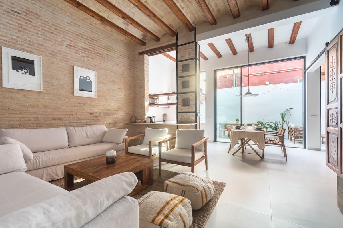 Apartamento en Valencia para seis huéspedes.