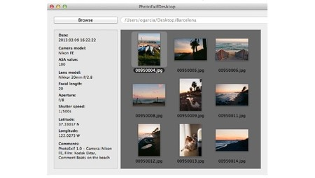 PhotoExif Desktop