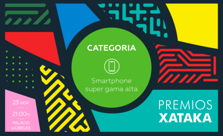Mejor smartphone de super gama alta: vota en los Premios Xataka 2017