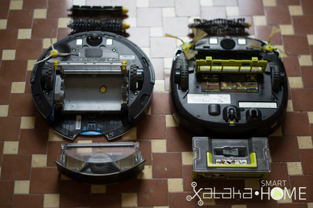 Roomba 790 vs Hom Bot Square - 4