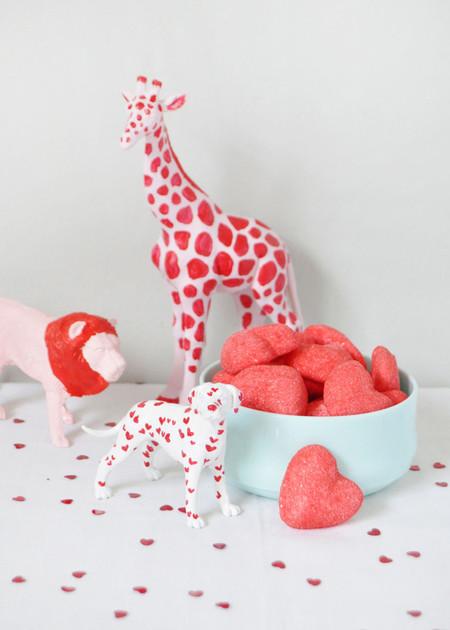 Hazlo tú mismo: decorando con figuras de animales en San Valentín