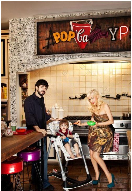 Foto de La casa de Christina Aguilera (5/26)