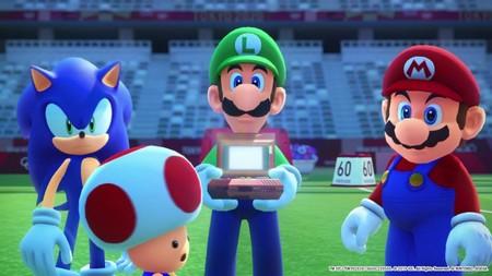 Mario y Sonic Juegos Olimpicos Tokyo 2020