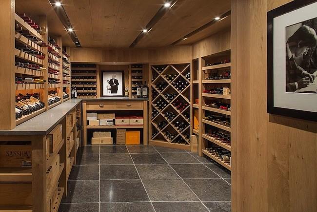 Bruce Willis Wine Cellar