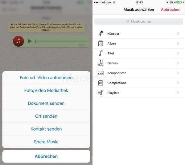 Whatsapp Musik Teilen1