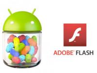 Nueva versión de Flash para Android Jelly Bean