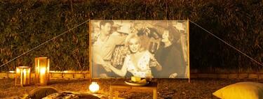 Este verano Zara Home nos propone montar un cine al aire libre con el mejor estilo